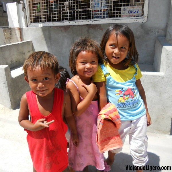 Niños, en Malapascua