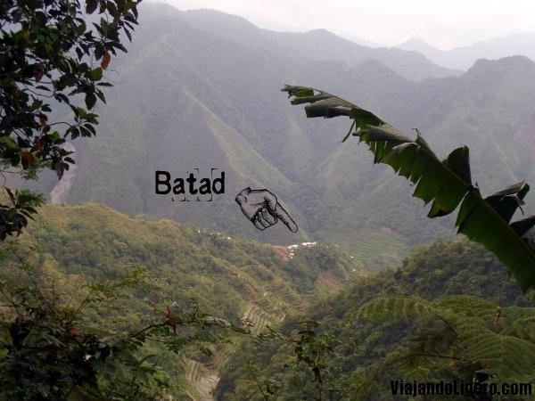 Batad visto desde el ¨saddle¨