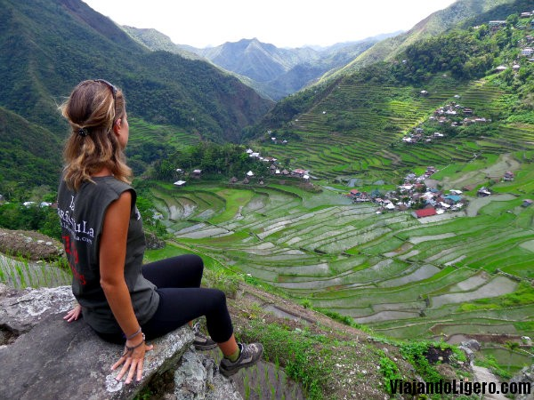 Vistas del valle de Batad, Filipinas