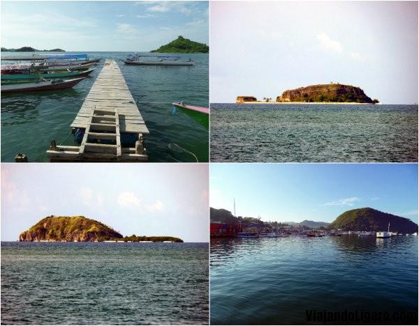 Las 17 islas desde el embarcadero de Riung