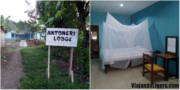 Antoneri Guest House, Moni