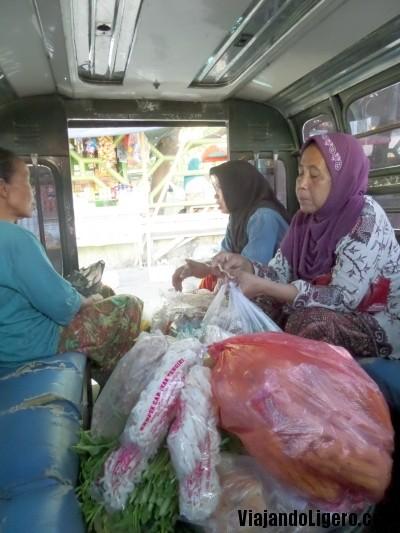 Bemo en Lombok