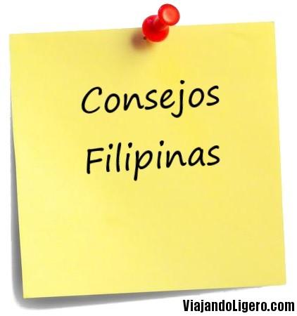 Consejos para viajar por Filipinas