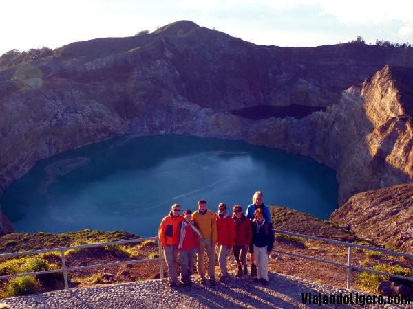 Monte Kelimutu, grupo
