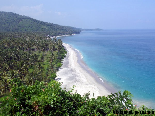 Playa en Lombok