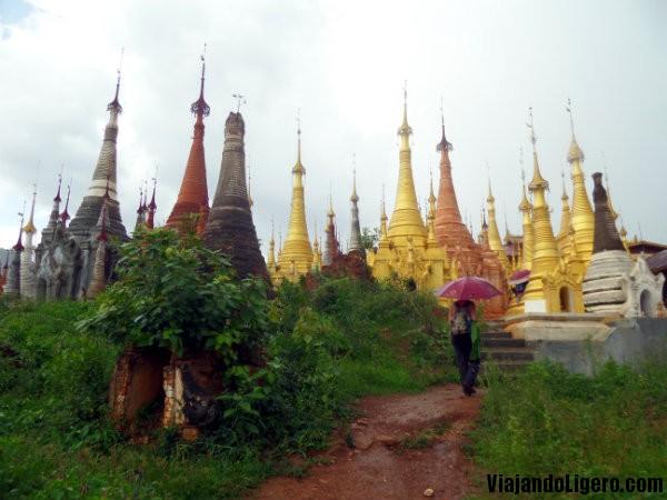 Indein, 500 estupas