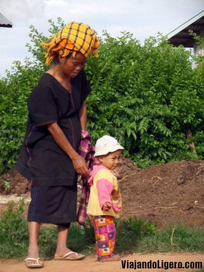 Etnia Pa'o, Birmania