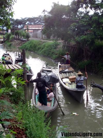 Nyaungshwe canal