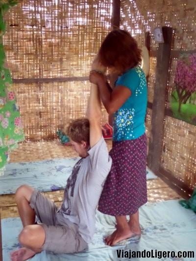 Masaje birmano