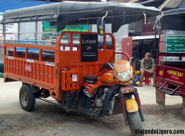 Nyaungshwe pick-up