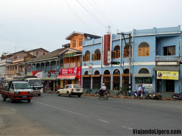 Calle en Pyin Oo Lwin