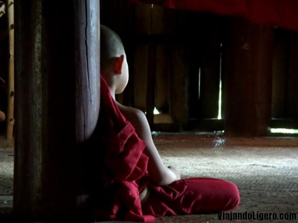 Monje, monasterio teka, Hsipaw