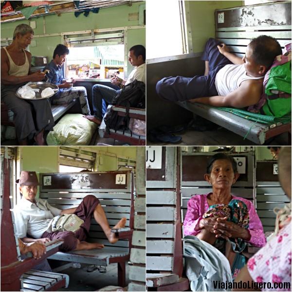 Tren en Myanmar