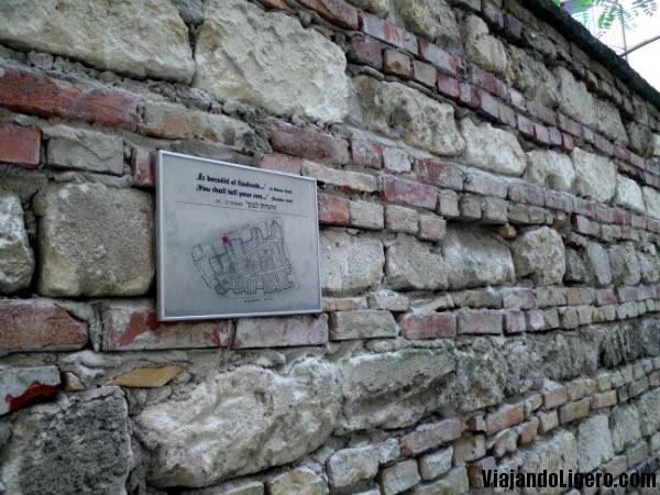 Muro barrio judio